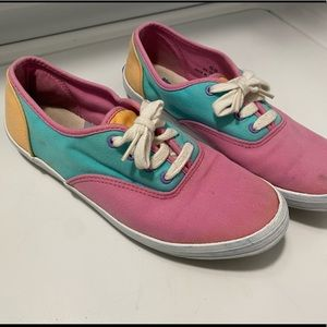 1991 Keds multi-colored shoes
